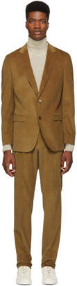 BOSS Brown Novan 5 Ben 2 Suit