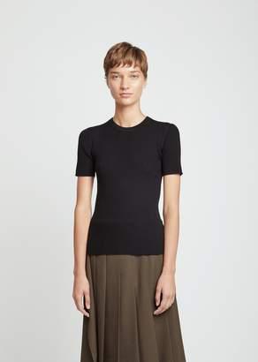 Pringle Merino Flatrib Short Sleeve Sweater