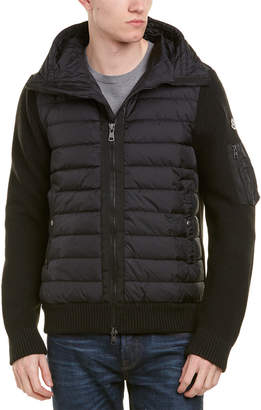 Moncler Quilted Wool-Blend Jacket