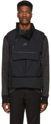 Nike Black Down Tech Pack Vest