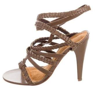 Isabel Marant Woven Leather Sandals