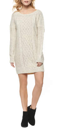 Dex Cable Sweater Dress