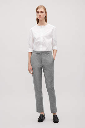 Cos SLIM-FIT FLANNEL TROUSERS