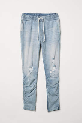 H&M Slim Low Joggers - Blue