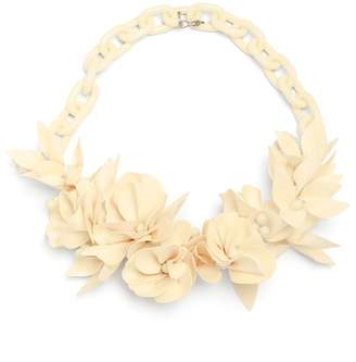 Isabel Marant Honolulu Flower Necklace - Womens - Beige