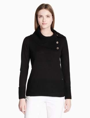 Calvin Klein cowl neck pullover sweater