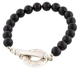 Tiffany & Co. Onyx Bead Bracelet
