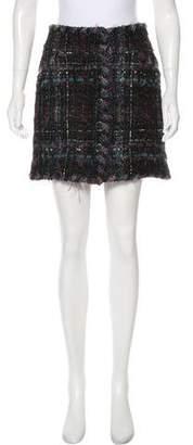 Chanel Lesage Tweed Mini Skirt