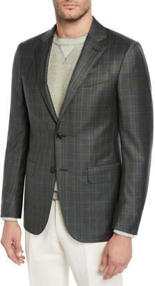 Ermenegildo Zegna Men's Check Sport Jacket