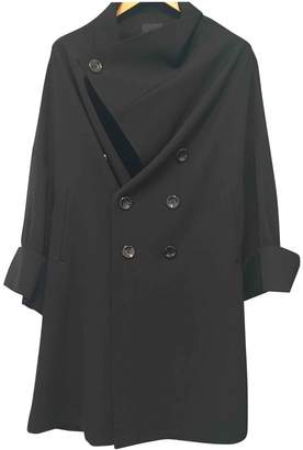 Limi Feu Black Wool Coat for Women