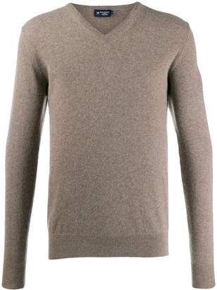 Hackett v-neck knit sweater
