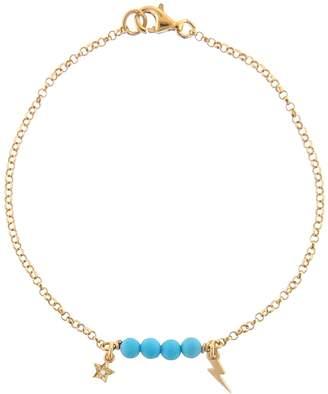 Ileana Makri EYE M by Turquoise Thunder Star Bracelet