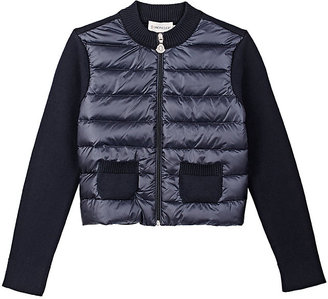 Moncler Maglia Down-Quilted Cardigan $325 thestylecure.com