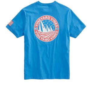 Vineyard Vines Regatta Crest Pocket T-Shirt