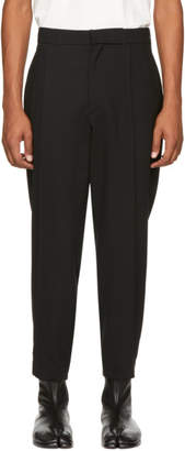 Ann Demeulemeester Black Howling Trousers