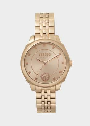Versus Rose Gold Steel Chelsea Watch