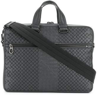 64f70cb6cd Bottega Veneta ardoise Intrecciato aurelio calf briefcase