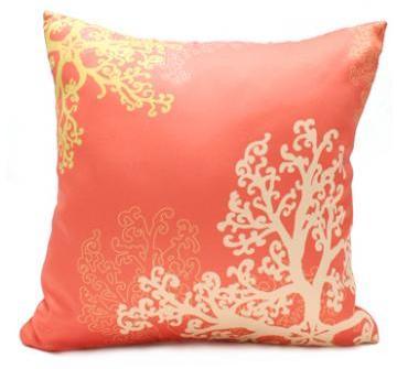 jefdesigns Home Seaflower Pillow - 17 X 17