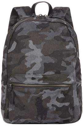 Polo Ralph Lauren Logo Camouflage Backpack