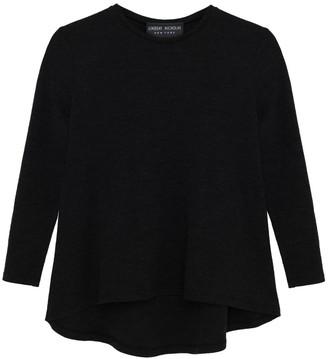 Lindsay Nicholas New York Crew Neck Sweater In Black