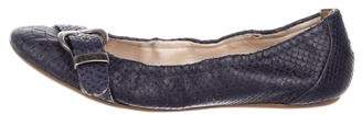 Christian Dior Embossed Ballet Flats
