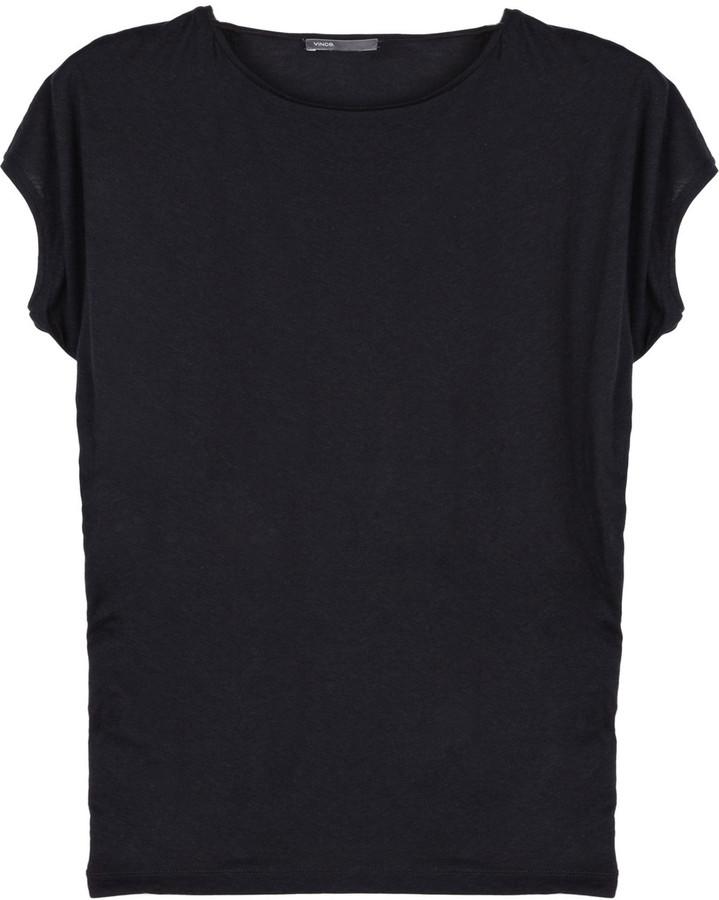 Vince Dolman-sleeve jersey T-shirt