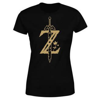 Nintendo The Legend Of Zelda Master Sword Women's T-Shirt