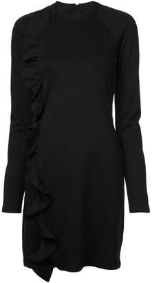 Victoria Beckham Victoria longsleeved ruffle detail dress