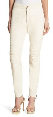 Ralph Lauren Collection Leather Cromwell Pants $2,790 thestylecure.com