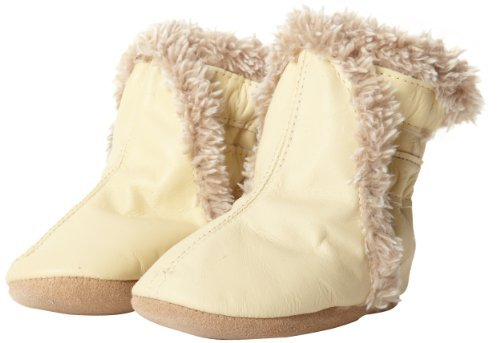 Robeez Classic CM Crib Shoe (Infant/Toddler),Cream,18-24 Months M US Infant