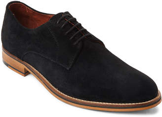 Supply Lab Black Evan Suede Derby Oxfords