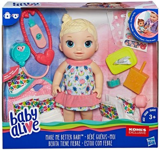 Baby Alive Blonde Make Me Better Baby Doll