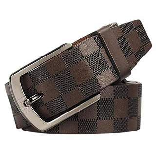 Martino of Canada Leather Belt Mens Western Belt With Single Buckle