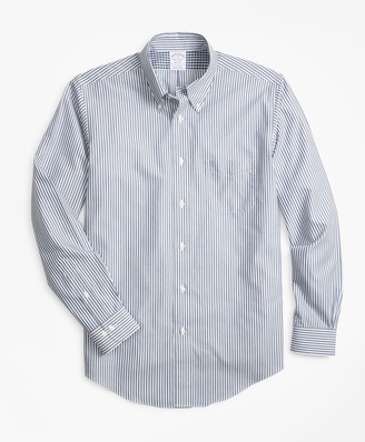Brooks Brothers Non-Iron Regent Fit Bengal Stripe Sport Shirt