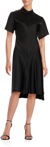 DKNYDkny Short Sleeved Button Front Dress
