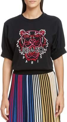 Kenzo Comfort Neon Tiger Graphic Tee