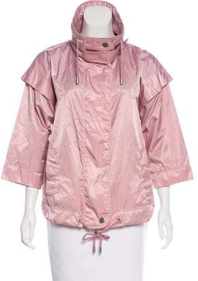 Galliano Lightweight Zip-Up Jacket