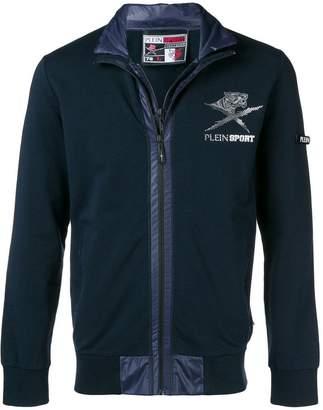 Plein Sport zip front logo sports jacket