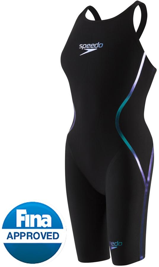 Speedo Women's LZR Racer X Closed Back Kneeskin Tech Suit Swimsuit 8130206