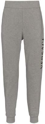 Medusa logo track trousers