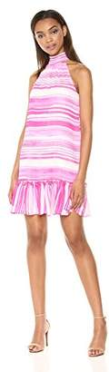 Trina Turk Trina Women's Zuri Mock Neck Sleeveless Dress