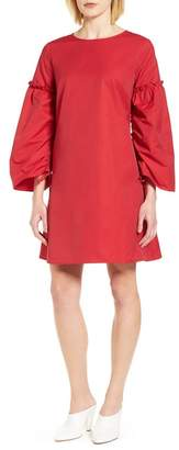 Halogen Parachute Sleeve Shift Dress