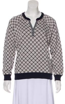 Marc by Marc Jacobs Abstract Pattern Long Sleeve Top