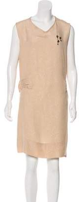 Golden Goose Silk Embellished Dress