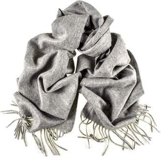 Black Grey Cashmere Scarf