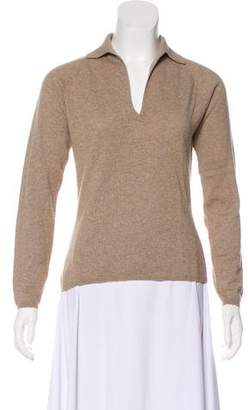 Loro Piana Cashmere Long Sleeve Top