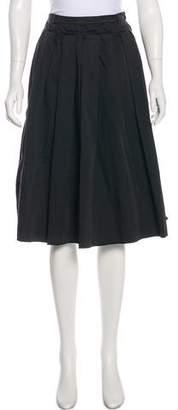 Sofie D'hoore Pleated Knee-Length Skirt