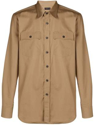 Prada chest pocket shirt