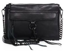 Rebecca Minkoff Mini MAC Leather Crossbody Bag $195 thestylecure.com