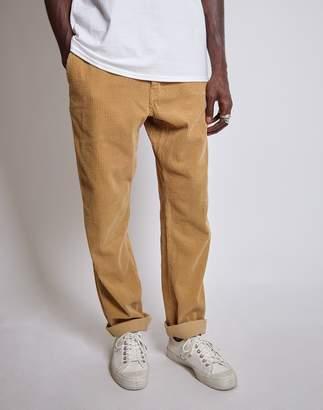 Saturdays NYC Field Heavy Regular Fit Cord Trousers Tan